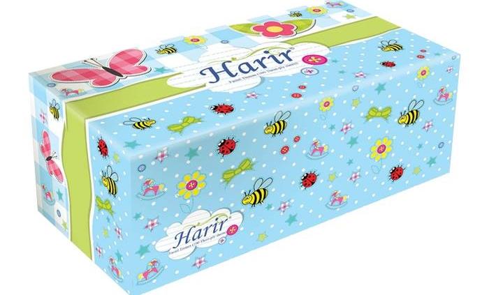 دستمال جعبه ای 100 برگ سه لایه