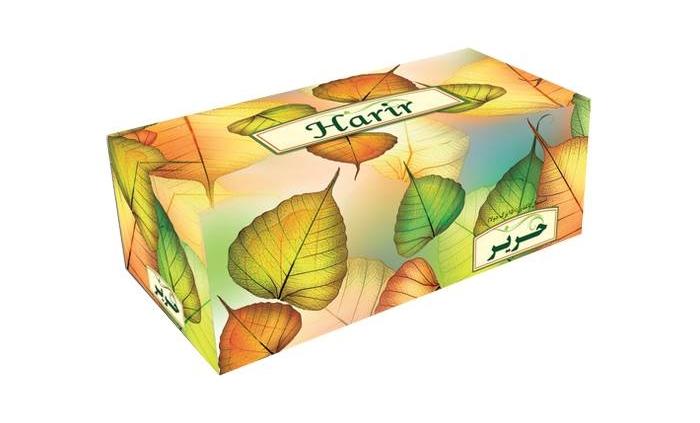 دستمال جعبه ای 150 برگ دولایه