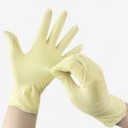 دستکش لاتکس بدون پودر ( اکسلنت )