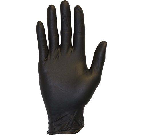 دستکش نیتریل بدون پودر سیاه